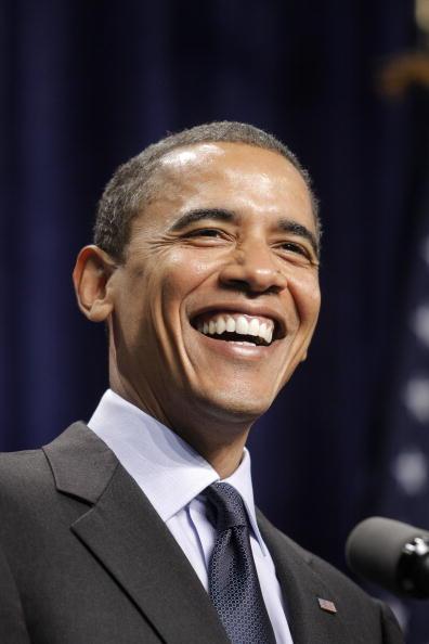 Celebration Event「Barack Obama Campaigns In Michigan」:写真・画像(5)[壁紙.com]