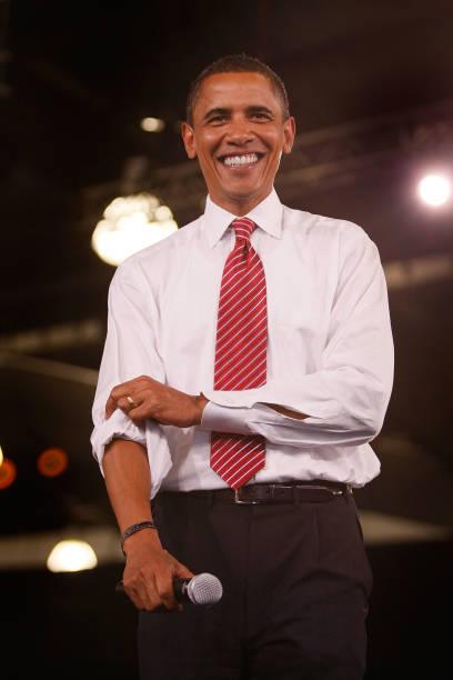 Barack Obama Campaigns In Florida And North Carolina:ニュース(壁紙.com)