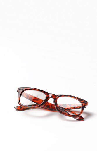 Horn Rimmed Glasses「Thick rimmed spectacles with copy space」:スマホ壁紙(0)