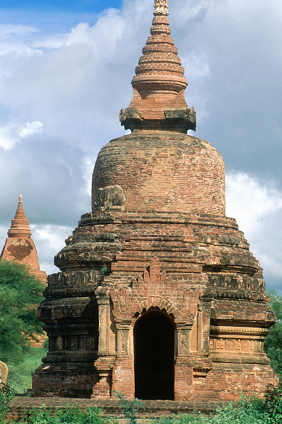 Brick Wall「Wat temple. Pagan, Burma, Myanmar.」:写真・画像(5)[壁紙.com]