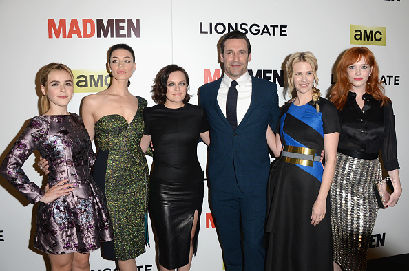 "Jessica Pare「AMC Celebrates The Season 7 Premiere Of ""Mad Men"" - Arrivals」:写真・画像(2)[壁紙.com]"