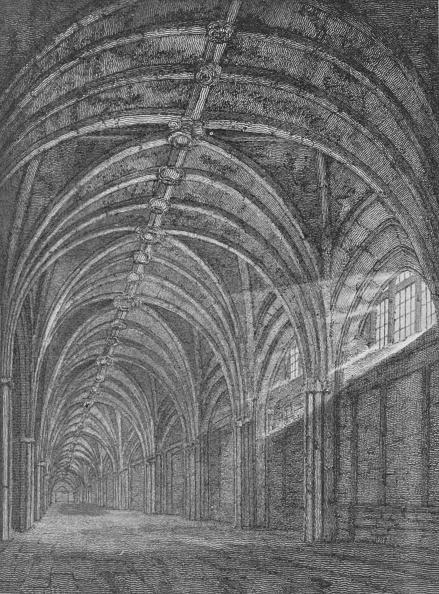Ceiling「Eastern cloister of St Bartholomew's Priory, West Smithfield, City of London, c1805 (1906)」:写真・画像(4)[壁紙.com]