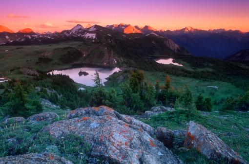 Mt Assiniboine「Mountain scenery」:スマホ壁紙(18)