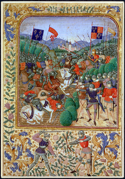 Manuscript「Battle Of Agincourt France 25 October 1415 (19th Century)」:写真・画像(0)[壁紙.com]