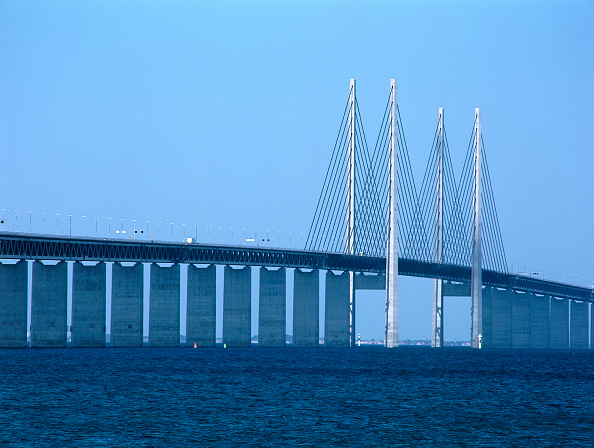 Copenhagen「Oresund Bridge. Linking Malmo, Sweden and Copenhagen, Denmark.」:写真・画像(18)[壁紙.com]