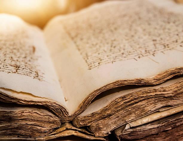Spain, Mallorca, Library in monastery, Valldemossa, Ancient manuscript:スマホ壁紙(壁紙.com)