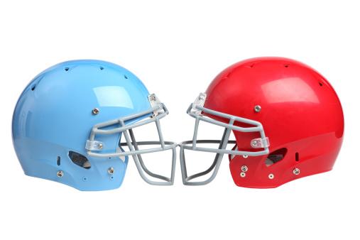 Two Objects「Football helmets」:スマホ壁紙(11)