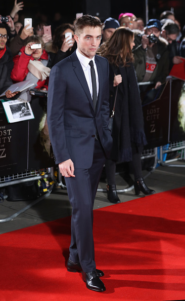 Robert Pattinson「The Lost City of Z - UK Premiere - Arrivals」:写真・画像(0)[壁紙.com]