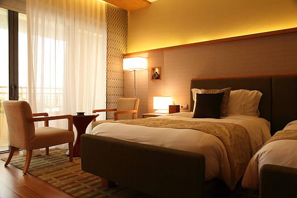 Luxury Hotel Room:スマホ壁紙(壁紙.com)
