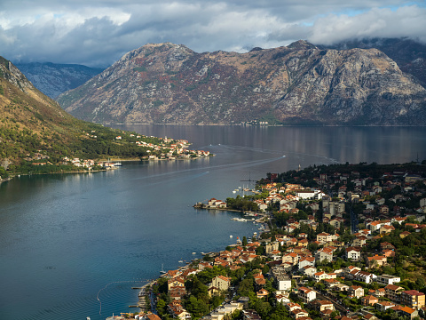 UNESCO「View from Kotor Fortress」:スマホ壁紙(2)