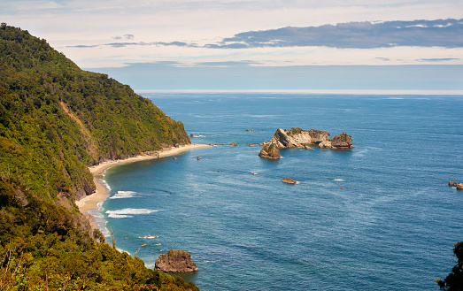 Westland - South Island New Zealand「View From Knight's Point New Zealand」:スマホ壁紙(11)