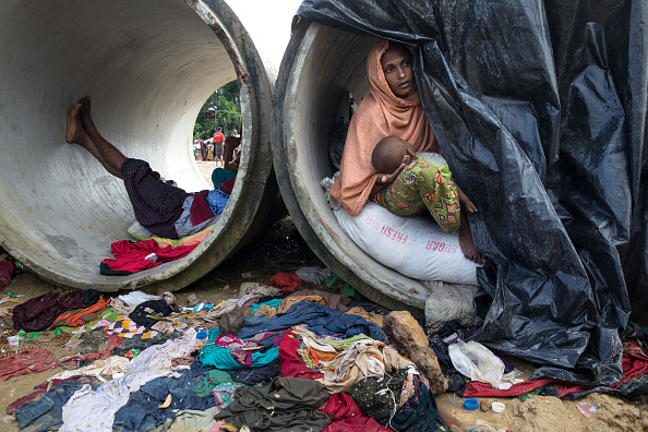 月「Rohingya Refugees Flood Into Bangladesh」:写真・画像(1)[壁紙.com]