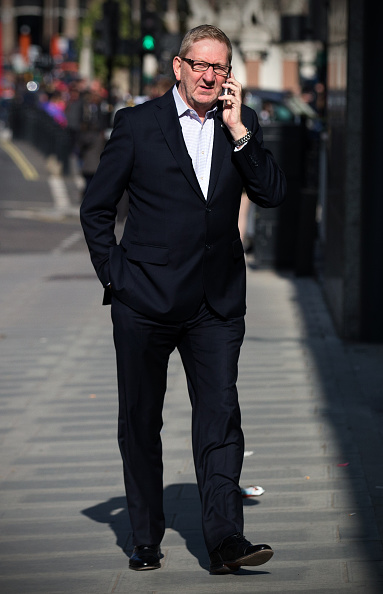 Incidental People「Len McCluskey Arrives For Meeting With Sajid Javid」:写真・画像(14)[壁紙.com]