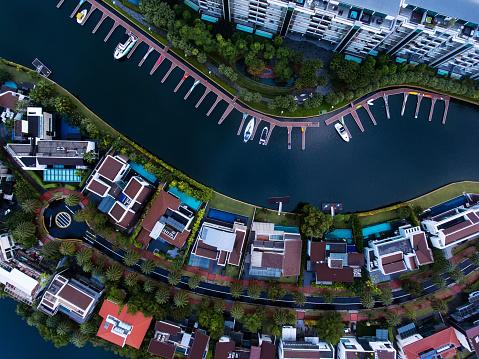 Miami「Singapore Residential Area aerial view」:スマホ壁紙(19)