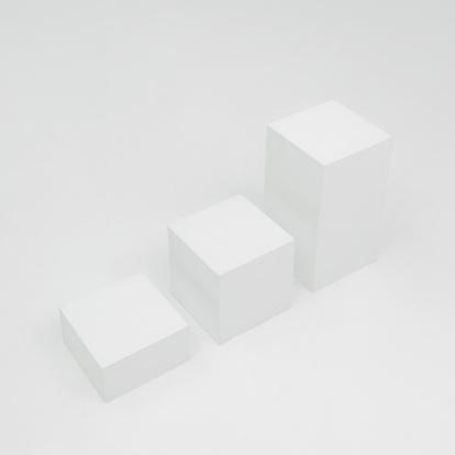 Cube Shape「Blocks arranged by height in ascending order」:スマホ壁紙(12)