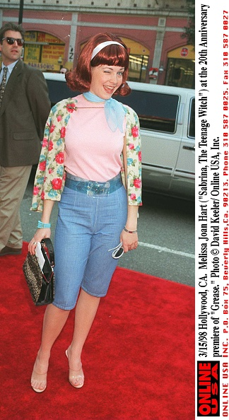 "David Keeler「3/15/98 Hollywood, CA. Melissa Joan Hart (""Sabrina, The Teenage Witch"") at the 20th Anniversary prem」:写真・画像(4)[壁紙.com]"