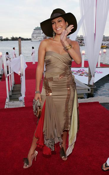 Metallic Dress「2004 MTV Video Music Awards - Arrivals」:写真・画像(0)[壁紙.com]