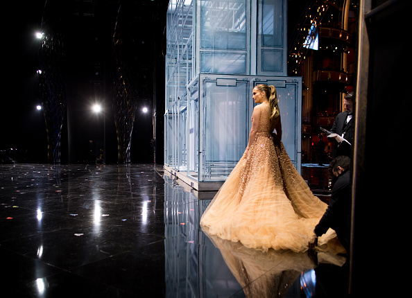 Tulle Netting「87th Annual Academy Awards - Backstage And Audience」:写真・画像(8)[壁紙.com]