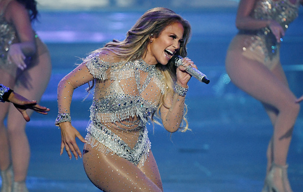 "Performance「""JENNIFER LOPEZ: All I HAVE"" Finale At Zappos Theater At Planet Hollywood Resort & Casino」:写真・画像(9)[壁紙.com]"