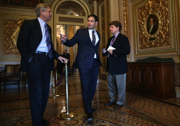 Marco Rubio - Politician「Senate Republicans Speak To Media After Weekly Policy Luncheon」:写真・画像(6)[壁紙.com]