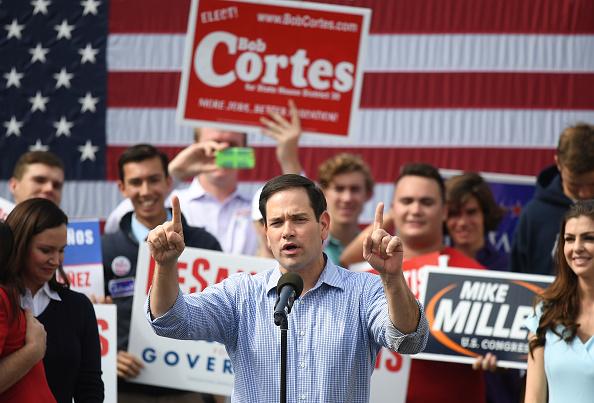 Marco Rubio - Politician「Florida Gubernatorial Candidate Ron DeSantis Campaigns With Sen. Marco Rubo」:写真・画像(1)[壁紙.com]