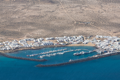 La Graciosa - Canary Islands「Isla Graciosa off the coast of Lanzarote」:スマホ壁紙(6)