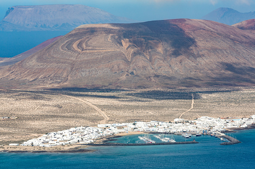 La Graciosa - Canary Islands「Isla Graciosa off the coast of Lanzarote」:スマホ壁紙(5)