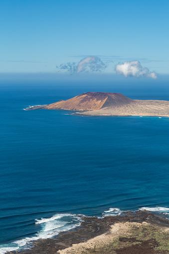 La Graciosa - Canary Islands「Isla Graciosa off the coast of Lanzarote」:スマホ壁紙(4)