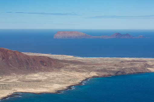 La Graciosa - Canary Islands「Isla Graciosa off the coast of Lanzarote」:スマホ壁紙(11)