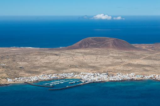 La Graciosa - Canary Islands「Isla Graciosa off the coast of Lanzarote」:スマホ壁紙(0)