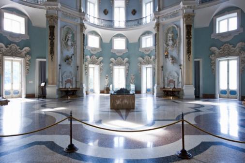Piedmont - Italy「Isola Bella, Interior of Borromeo's Palace. 」:スマホ壁紙(9)