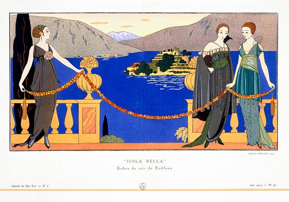 アールデコ「Isola Bella' Evening Dresses Designed By Redfern 1914」:写真・画像(15)[壁紙.com]