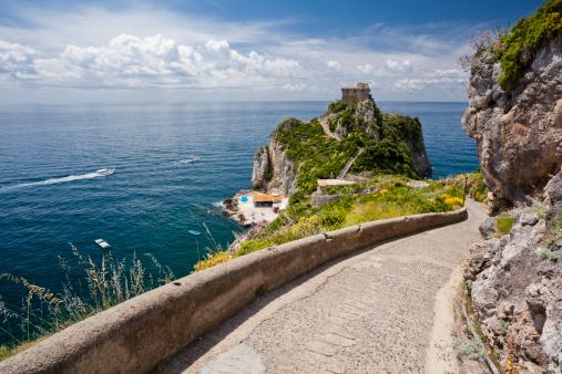 アマルフィ海岸「Capo di Conca」:スマホ壁紙(16)