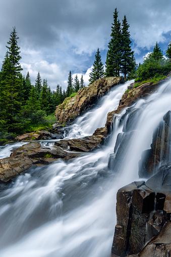 Uncompahgre National Forest「Twin Falls」:スマホ壁紙(8)