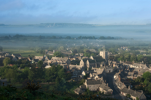 文化「Corfe Castle village, Dorset」:スマホ壁紙(11)