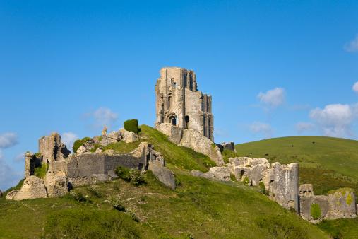 Castle「Corfe Castle, Corfe, Dorset, England」:スマホ壁紙(12)