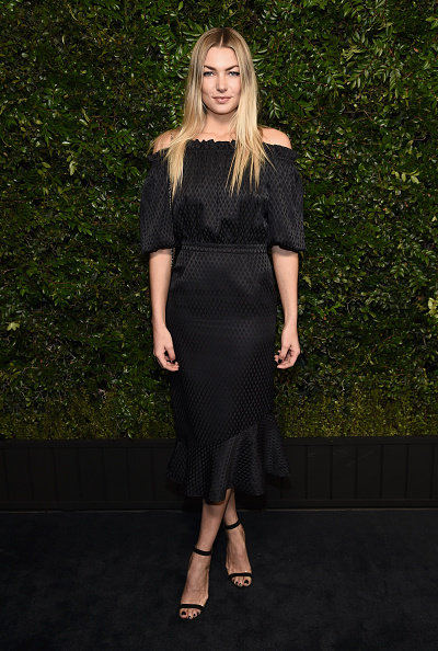 Jessica Hart「Charles Finch And Chanel Pre-Oscar Awards Dinner At Madeo In Beverly Hills」:写真・画像(15)[壁紙.com]