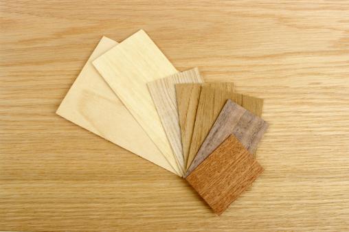 セイヨウカジカエデ「小さなさまざまな木目の化粧張りのオーク材の背景」:スマホ壁紙(17)