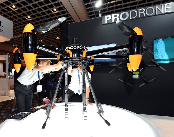 Invention「InterDrone Conference For Commercial Drones Held In Las Vegas」:写真・画像(14)[壁紙.com]