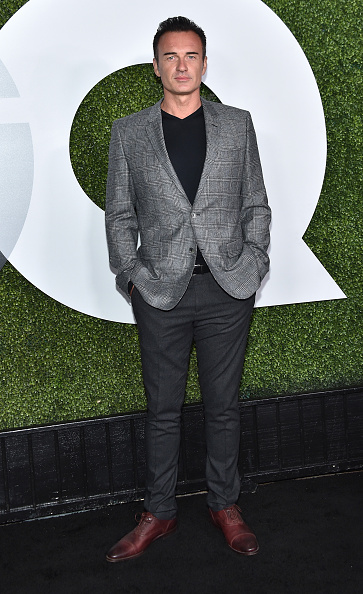 Checked Blazer「GQ 20th Anniversary Men Of The Year Party - Arrivals」:写真・画像(2)[壁紙.com]