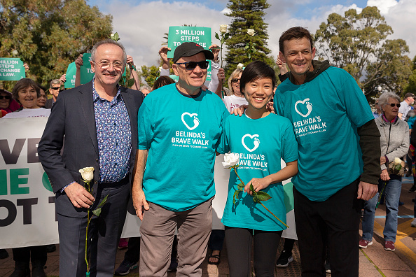 Adam Gilchrist「Belinda Teh Walks from Kings Park to the WA Parliament With Euthanasia Advocates」:写真・画像(19)[壁紙.com]