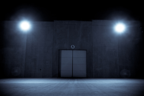 Building night view「Night Shadows」:スマホ壁紙(10)