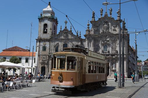 World Heritage「Historic tram in Porto」:スマホ壁紙(4)