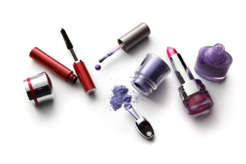Sensuality「Cosmetics: Lipstick, Eyeshadow, Nail Polish and Mascara」:スマホ壁紙(4)