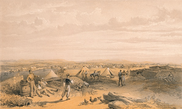 Copy Space「Camp of the 4th Division, 1856」:写真・画像(16)[壁紙.com]