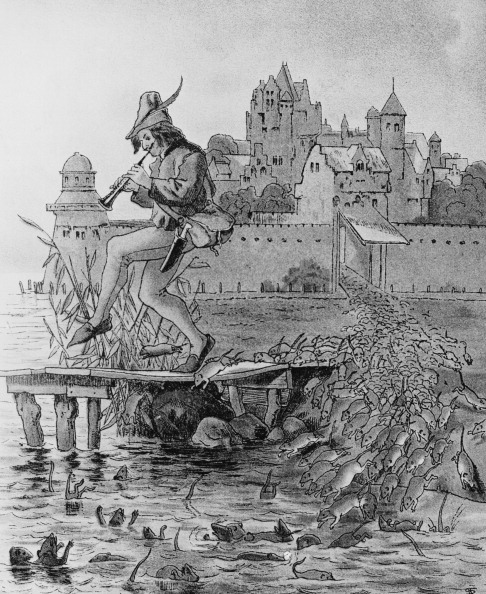 Illustration「Pied Piper And Rats」:写真・画像(19)[壁紙.com]