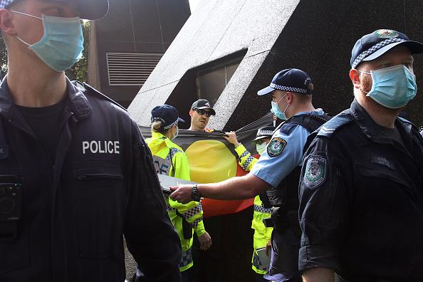 Lisa Maree Williams「Black Lives Matter Activists Attend Unauthorised Rally In Sydney」:写真・画像(5)[壁紙.com]
