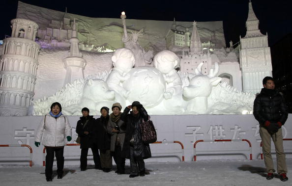 Mombetsu Ice Festival「Sapporo Snow Festival Preparation」:写真・画像(7)[壁紙.com]