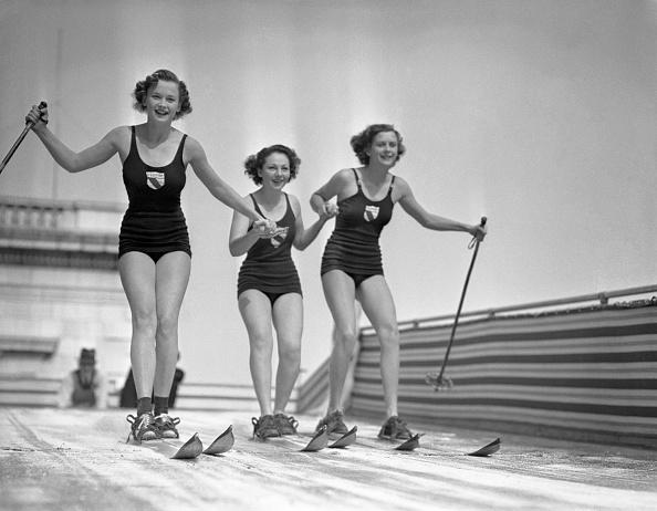 スキー「Girls Skiing」:写真・画像(13)[壁紙.com]