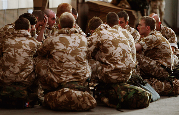 Special Forces「Commando's Prepare to Leave For Afghanistan」:写真・画像(16)[壁紙.com]